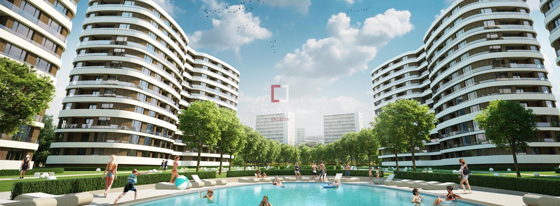 Варна сити парк ЮГ-первый в Болгарии и в Варне жилой комплекс на геотермальной энергии